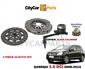 NISSAN QASHQAI 1.5 DCI K9K 1461cc J10 JJ10 2006 TO 2014 CLUTCH KIT WITH SLAVE